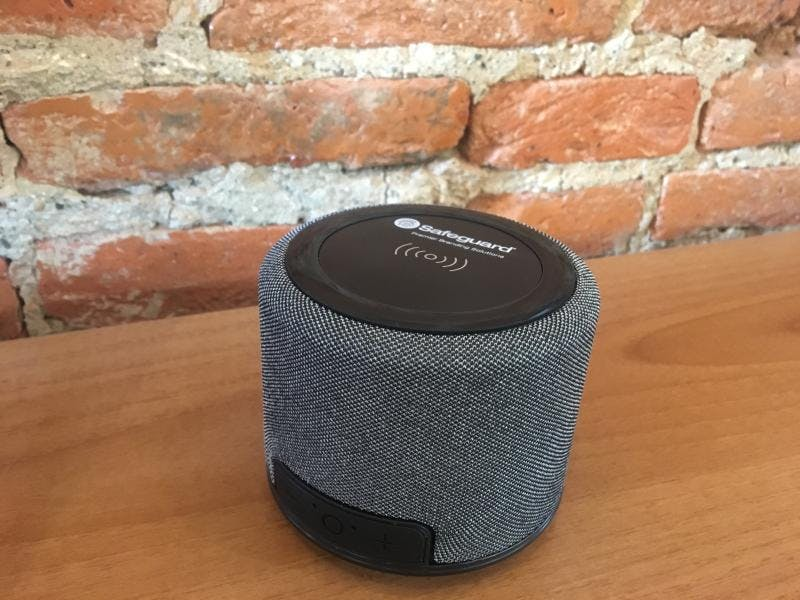 Bluetooth speaker and wireless charger